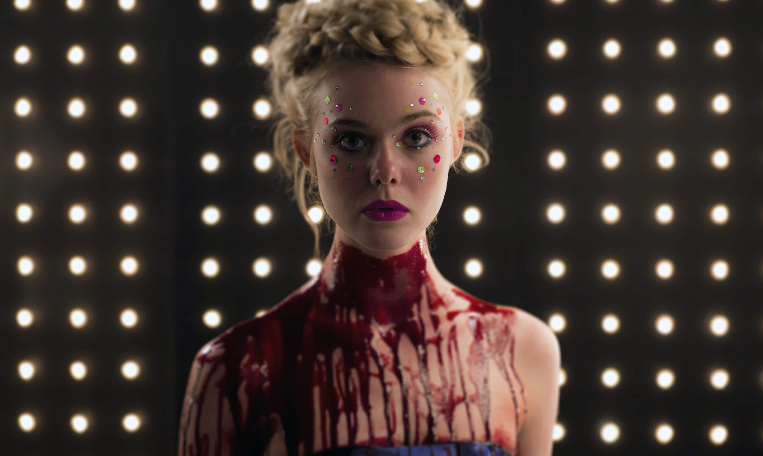 Elle Fanning stars in 'The Neon Demon'.
