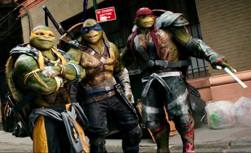 The Turtles return in 'TMNT: Out of the Shadows'