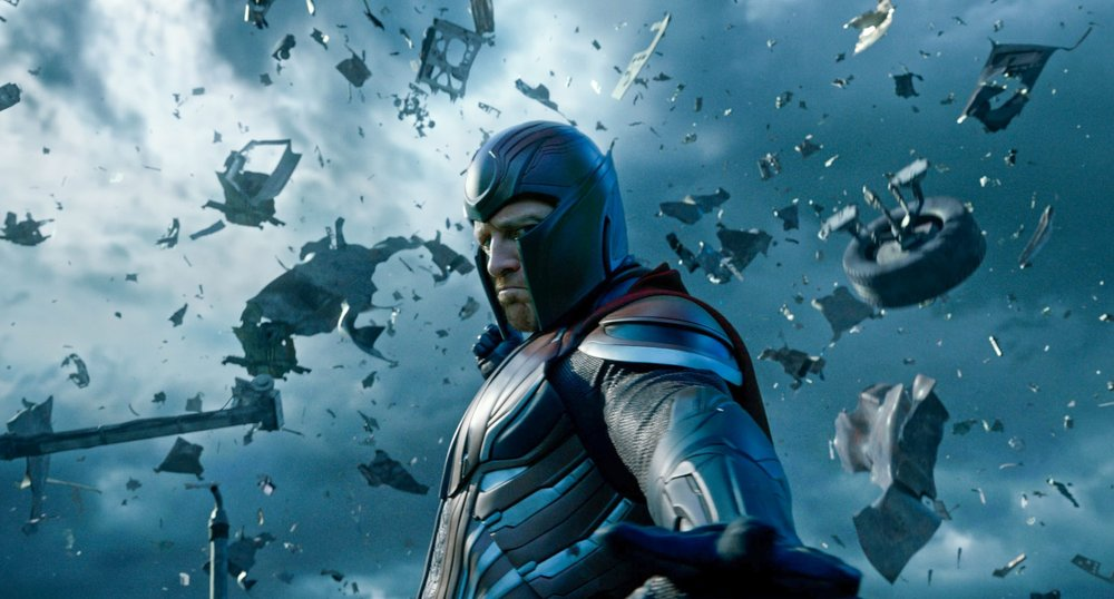 Michael Fassbender as the perpetually conflicted mutant Magneto.