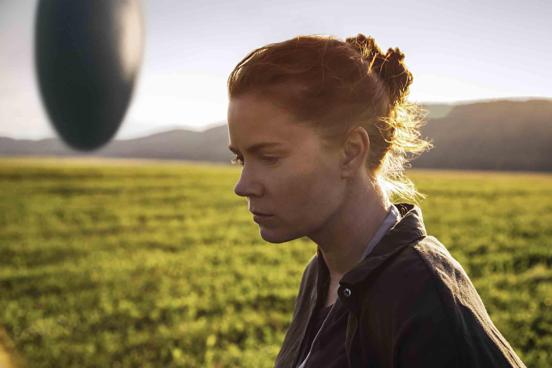 Amy Adams stars in 'Arrival', directed by Denis Villeneuve.