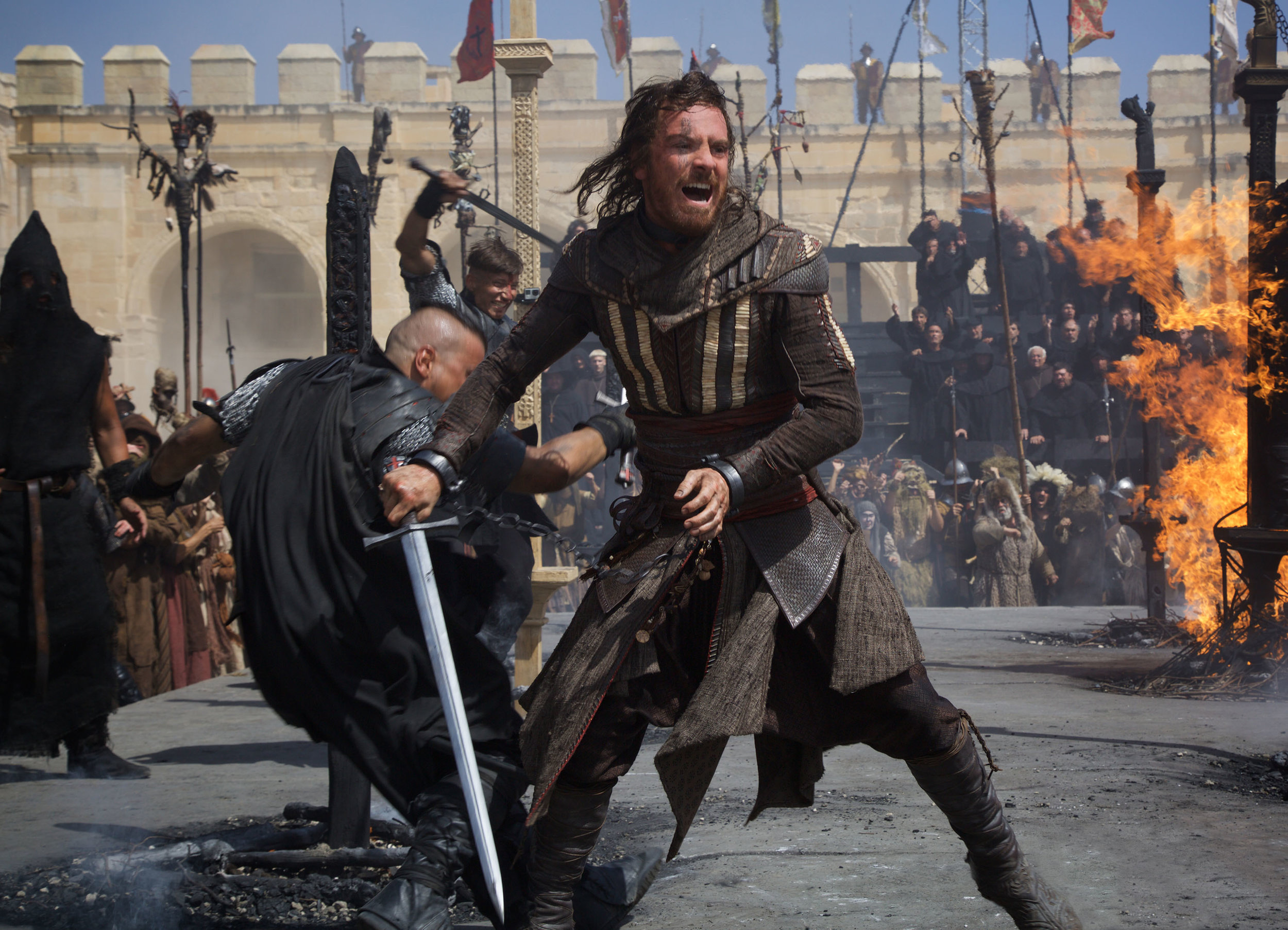 Michael Fassbender stars in 'Assassin's Creed', directed by Justin Kurzel.