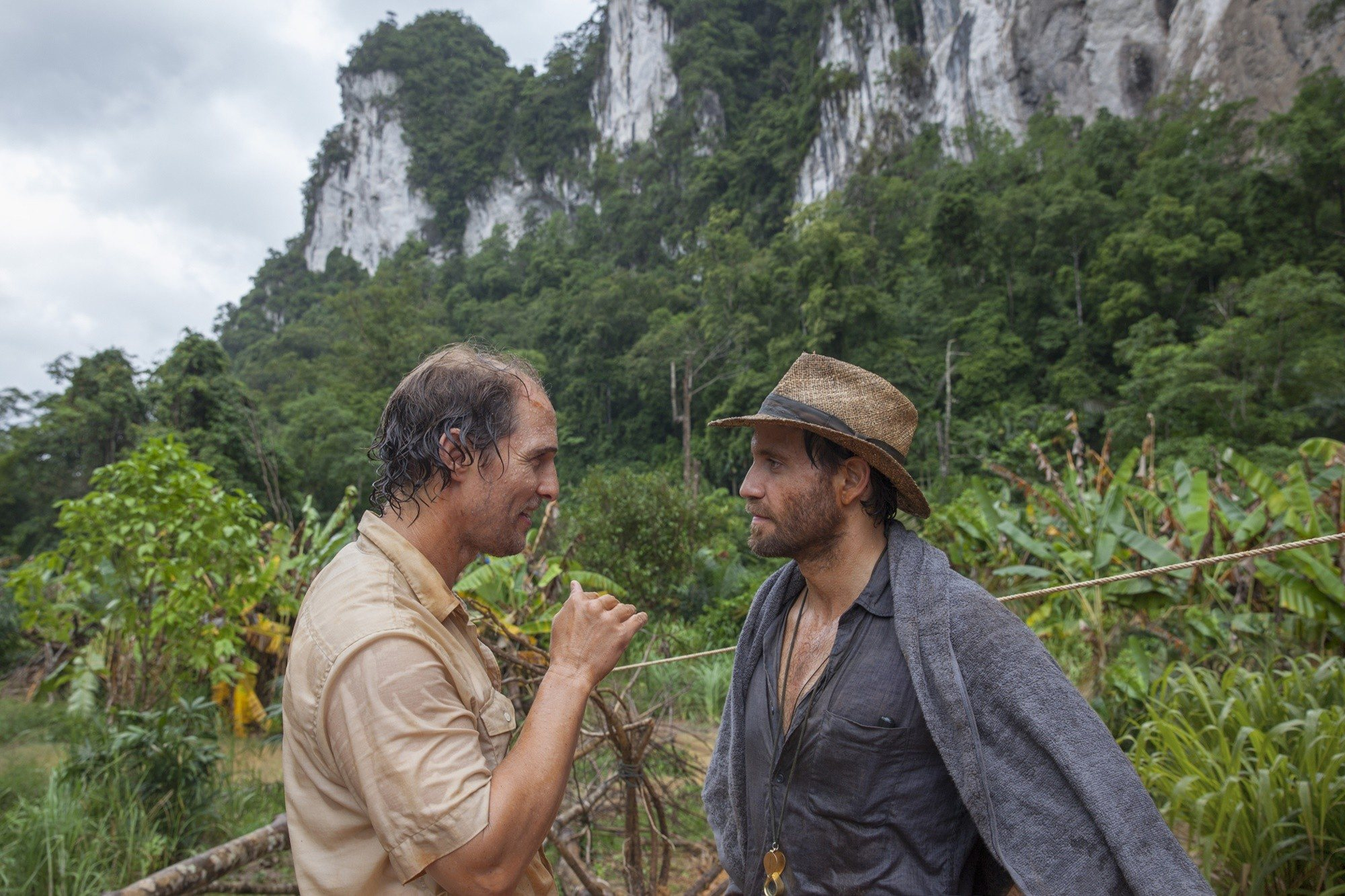 Matthew McConaughey and Edgar Ramírez in 'Gold', directed by Steven Gaghan.