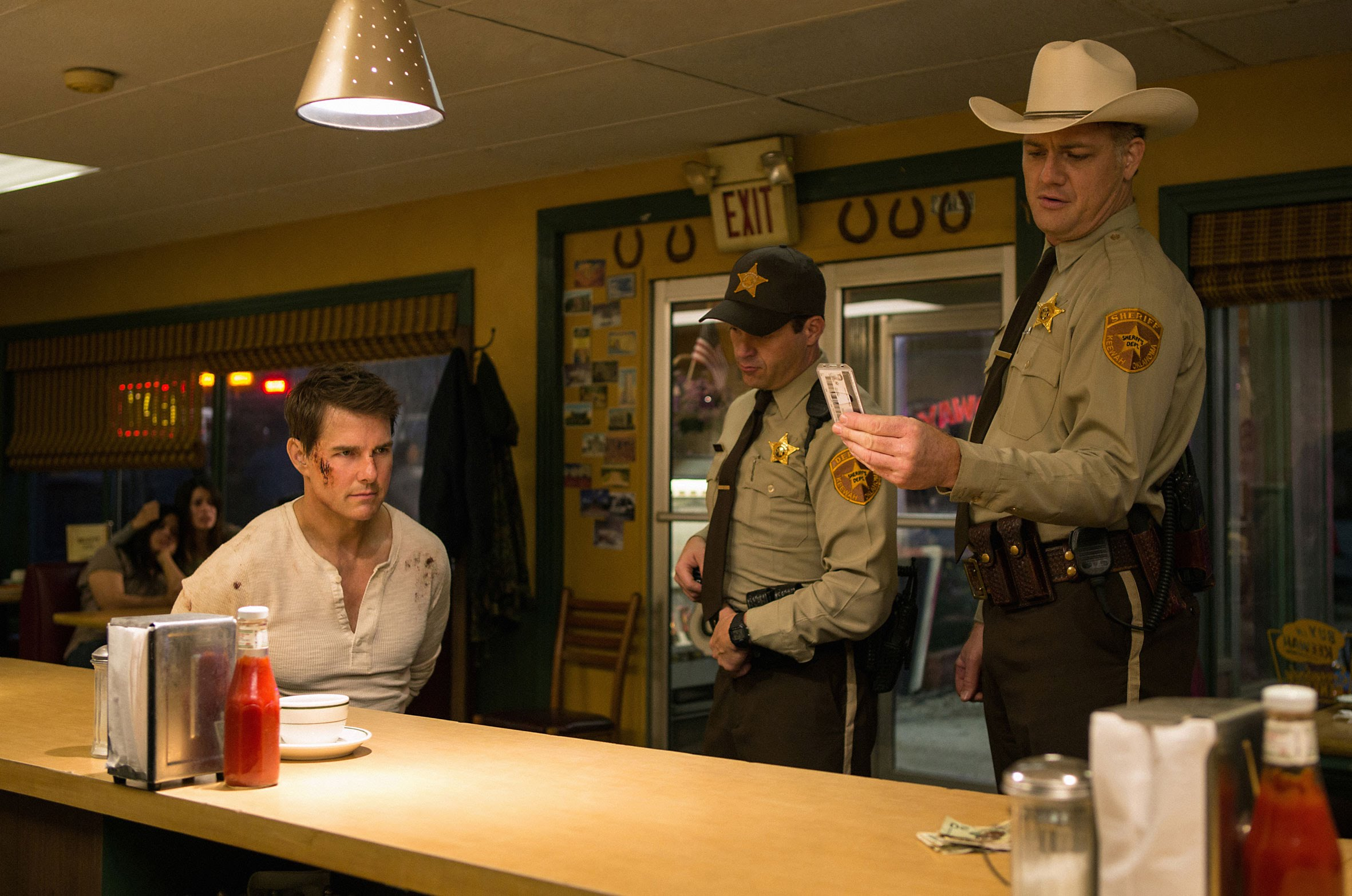 Tom Cruise returns as Jack Reacher in the sequel directed by Edward Zwick.
