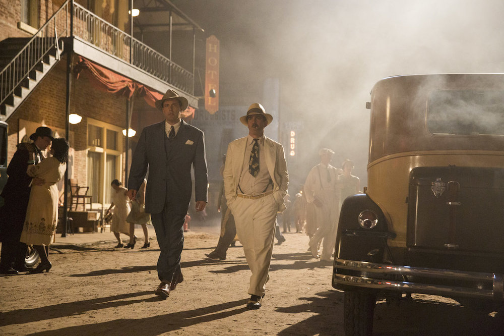 Ben Affleck and Chris Messina star in 'Live by Night'.