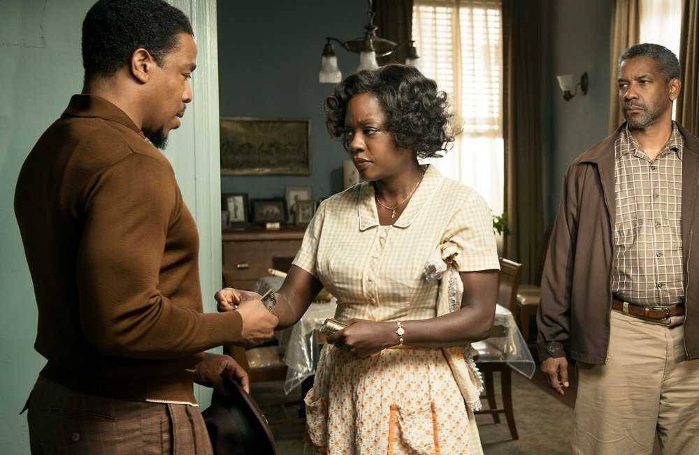 Viola Davis as Rose Maxson in 'Fences'.