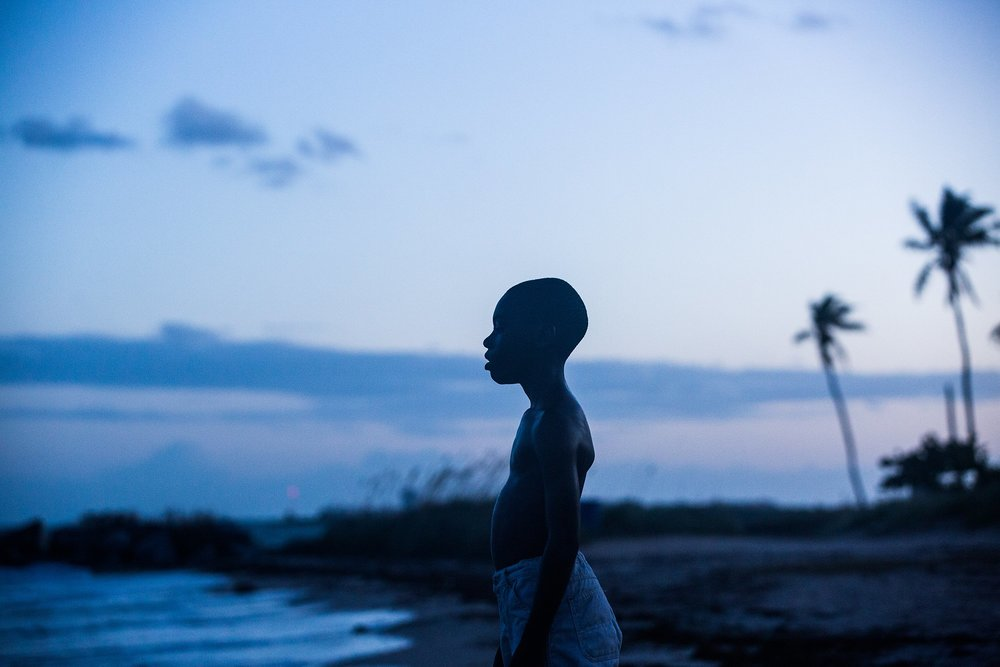 Alex Hibbert as Little in 'Moonlight'.