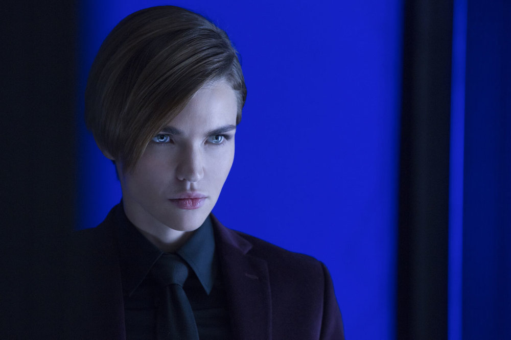 Ruby Rose as the deaf assassin known as Ares.