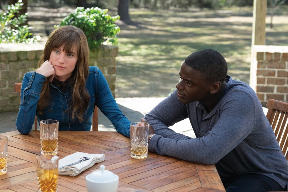 Allison Williams and Daniel Kaluuya star in 'Get Out', directed by Jordan Peele.