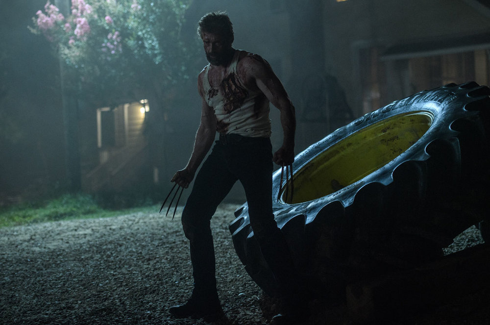 Hugh Jackman in his final outing as James Howlett in 'Logan', directed by James Mangold.