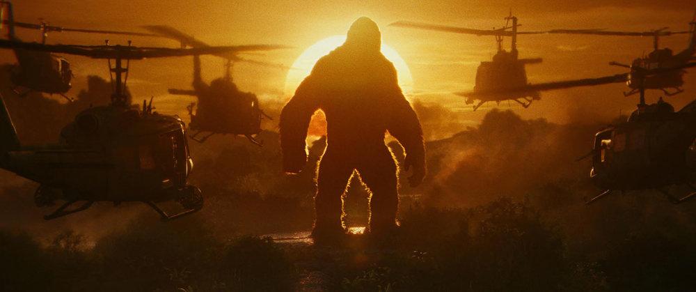'Kong: Skull Island', directed by Jordan Vogt-Roberts.
