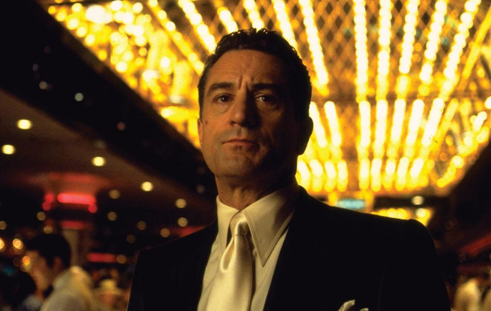 Robert De Niro as Sam Rothstein in 'Casino', directed by Martin Scorsese.
