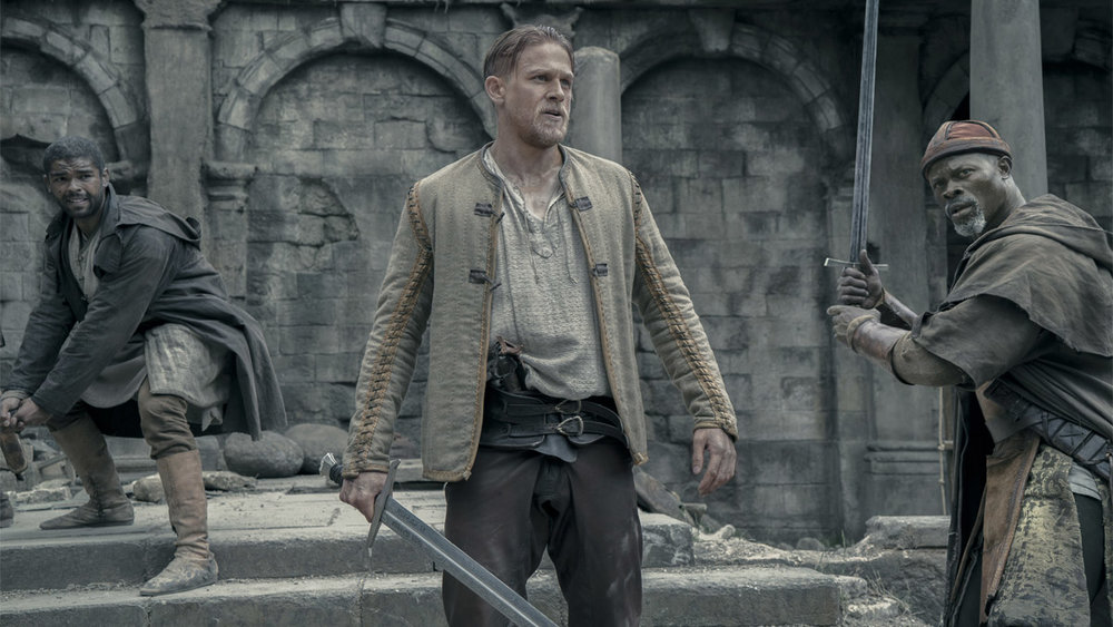 Charlie Hunnam stars in  King Arthur: Legend of the Sword , directed by Guy Ritchie.