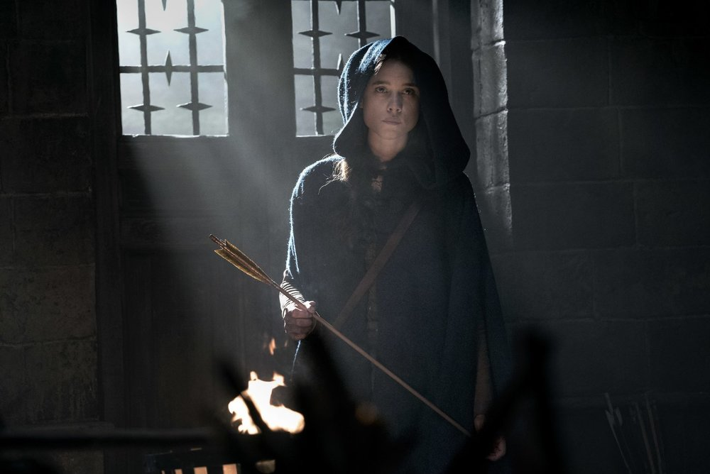 Astrid Bergès-Fresbey as The Mage.