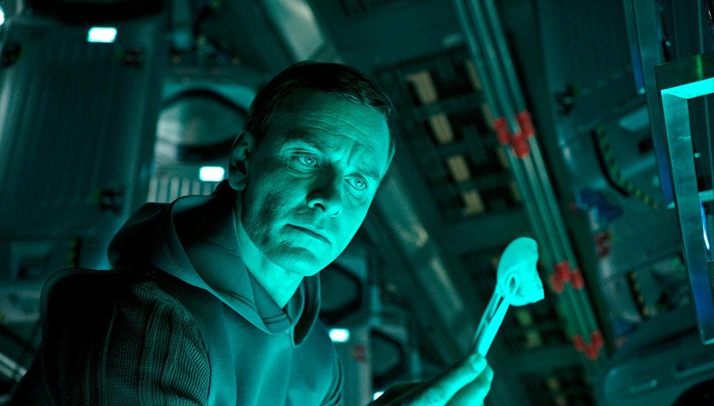 Michael Fassbender as Walter.