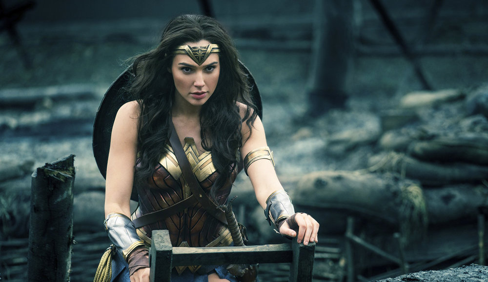 Gal Gadot as Diana of Themyscira in  Wonder Woman , directed by Patty Jenkins.