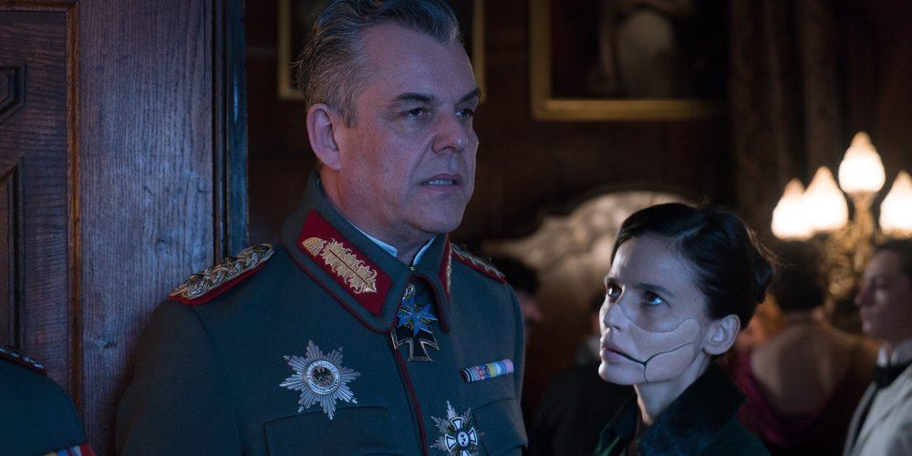 Danny Huston as General Ludendorff, and Elena Anaya as Dr. Maru.