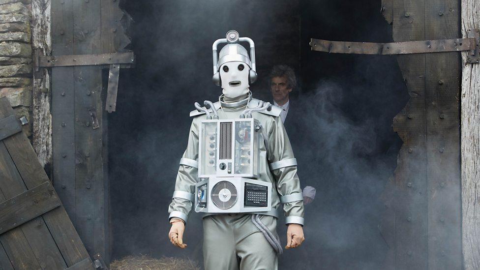 Bill Potts, transformed into a Mondasian Cyberman.