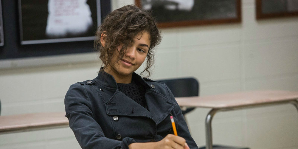 Zendaya as the mysterious Michelle.