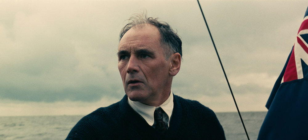 Mark Rylance as Mr. Dawson.