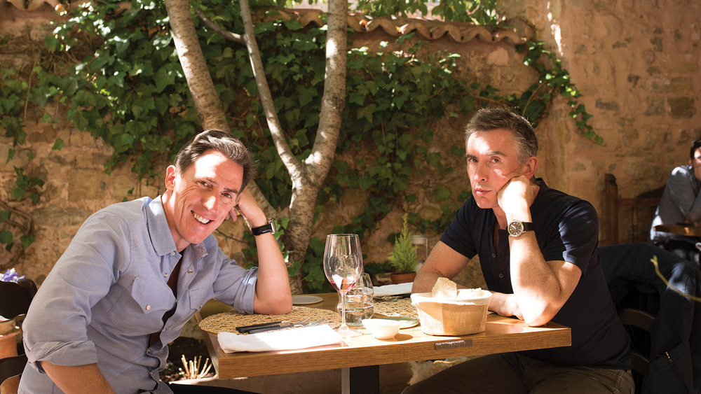 Rob Brydon and Steve Coogan return in  The Trip to Spain,  directed by Michael Winterbottom.