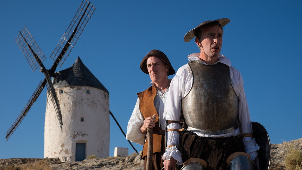 A  Don Quixote  photo shoot causes some discomfort.
