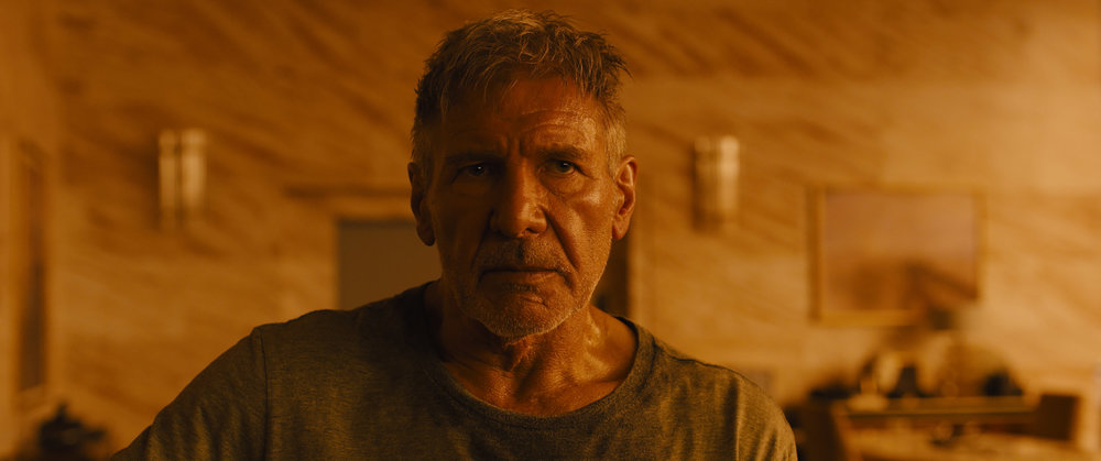 Harrison Ford returns as Rick Deckard.