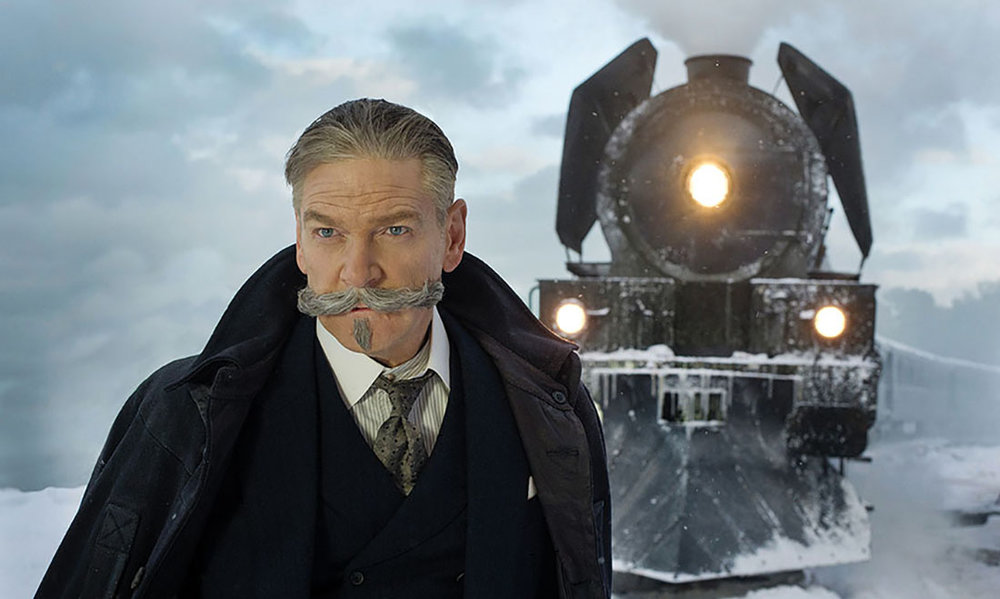 Kenneth Branagh directs and stars in  Murder on the Orient Express .