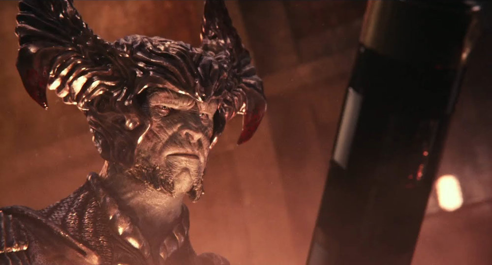 Steppenwolf, voiced by Ciarán Hinds.