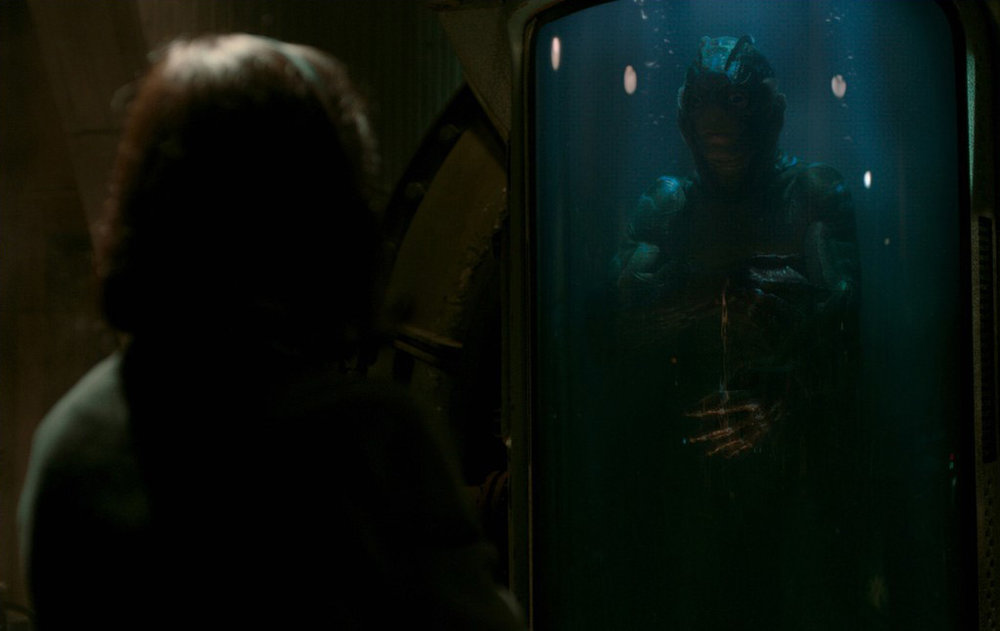 The anonymous creature is played by frequent Del Toro collaborator Doug Jones.
