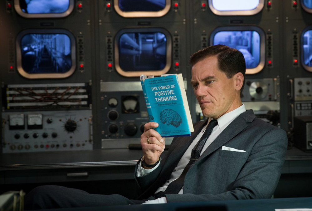 Michael Shannon as the villainous Strickland.