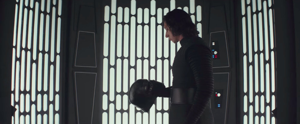 Kylo Ren (Adam Driver) becomes possibly the most subtly shaded villain in the franchise.