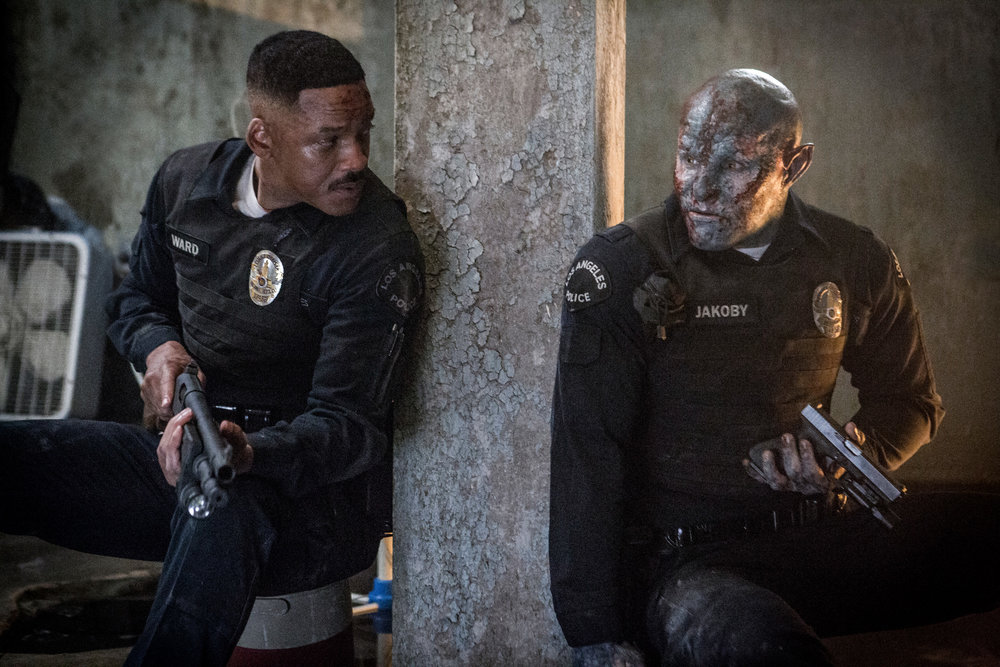 Will Smith and Joel Edgerton star in  Bright , directed by David Ayer.