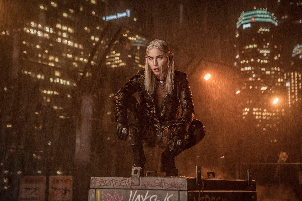 Noomi Rapace as an evil elf named Leilah.