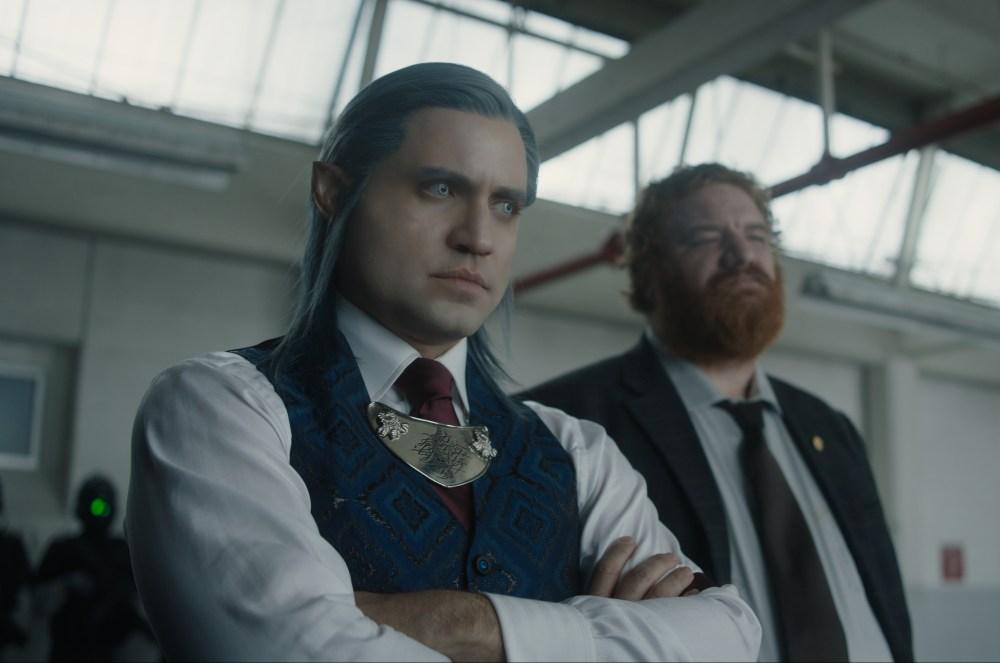 Edgar Ramírez as a ridiculous-looking federal agent elf, Kandomere.