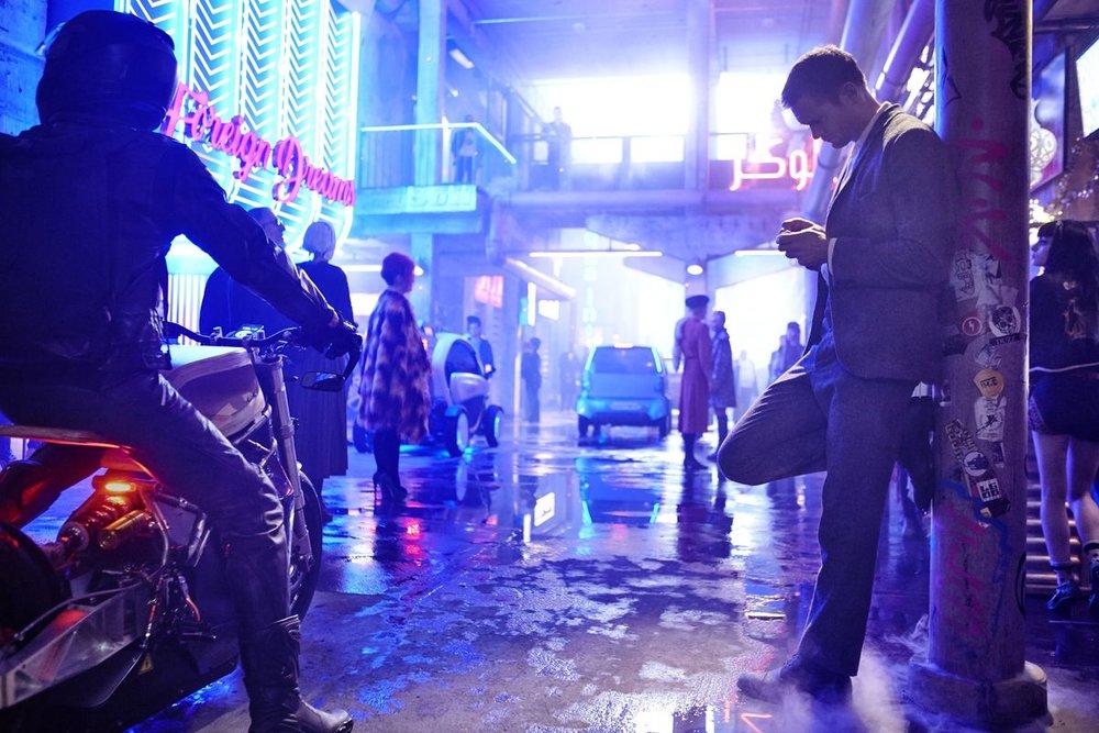 Much of the plot involves Leo pinging around Berlin.