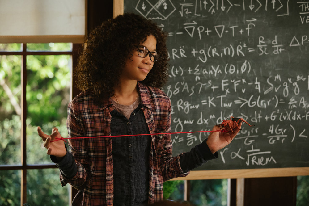Storm Reid as Meg in  A Wrinkle in Time , directed by Ava DuVernay.