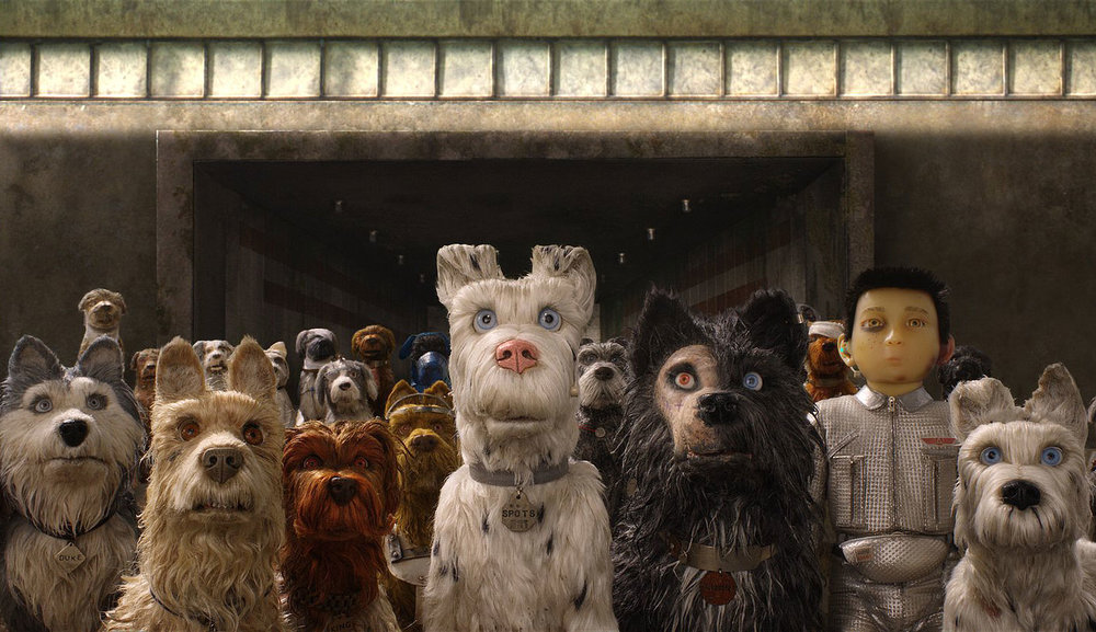 Isle of Dogs , directed by Wes Anderson.