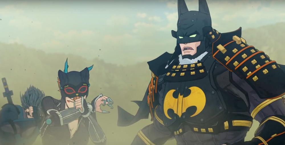 Batman Ninja , directed by Junpei Mizusaki, sends Batman (Kôichi Yamadera) back in time to feudal Japan.