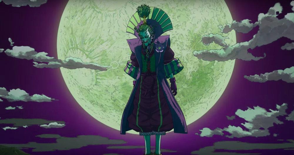The Joker is reimagined as Lord Joker, voiced by Wataru Takagi