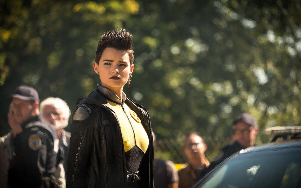 Brianna Hildebrand returns as Negasonic Teernage Warhead.