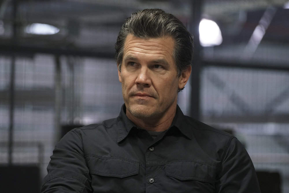 Josh Brolin returns as U.S. government agent Matt Graver.