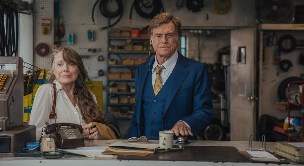 Sissy Spacek and Robert Redford star in  The Old Man and the Gun , directed by David Lowery.