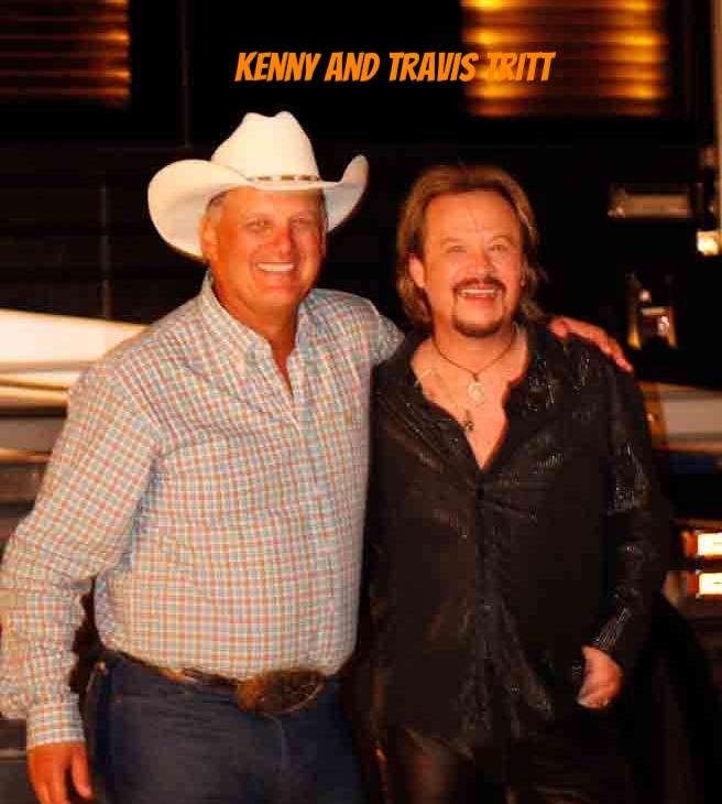 Kenny with Travis Tritt