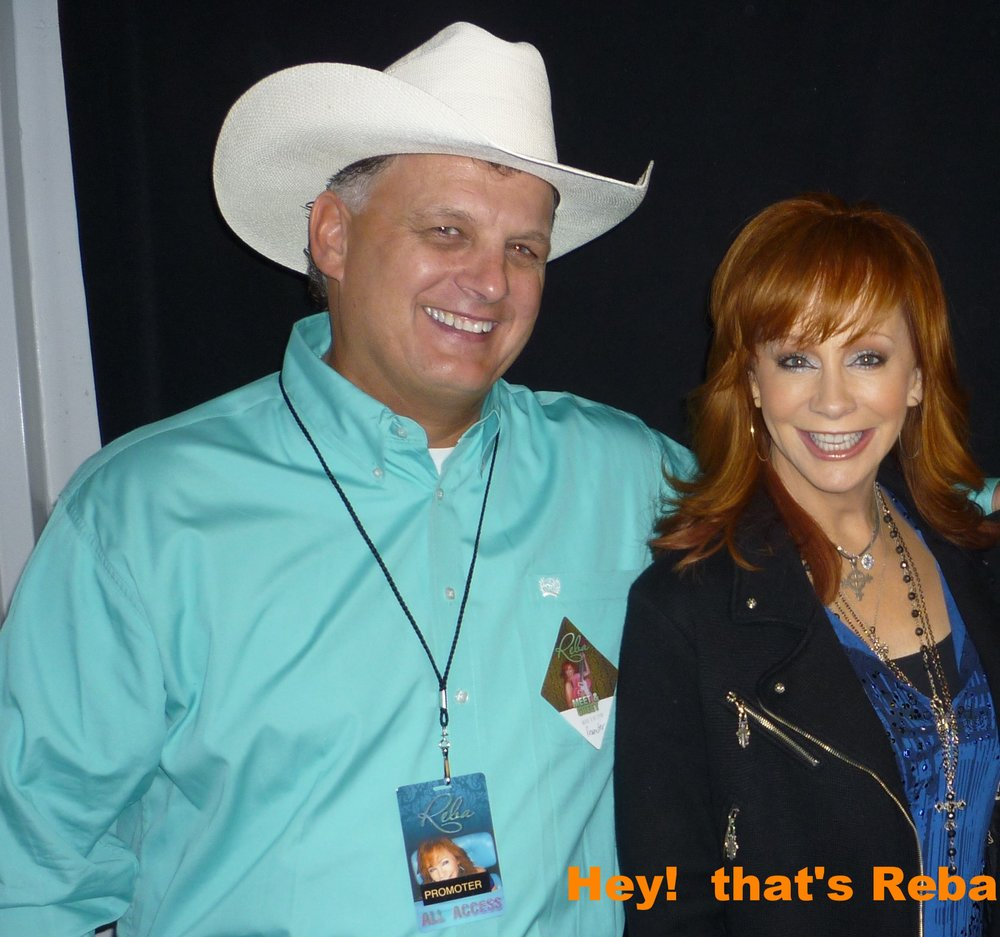 Kenny with Reba
