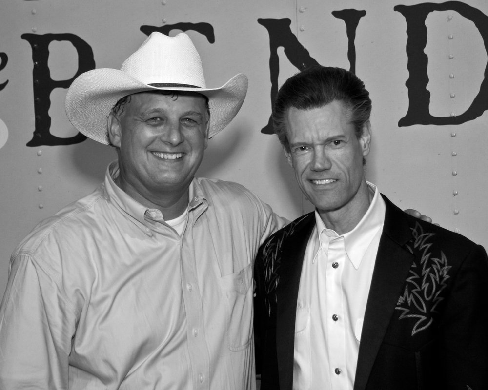 On the road with Randy Travis 2005