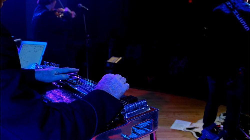 John Ellis's hands. (He's shy)