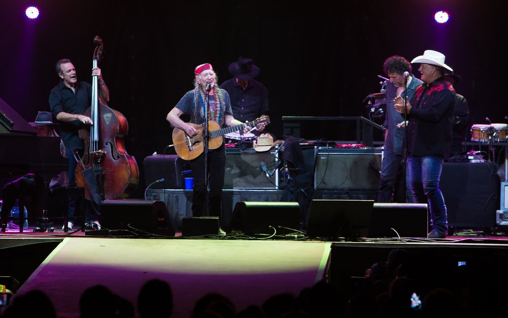 Wailing with Willie!