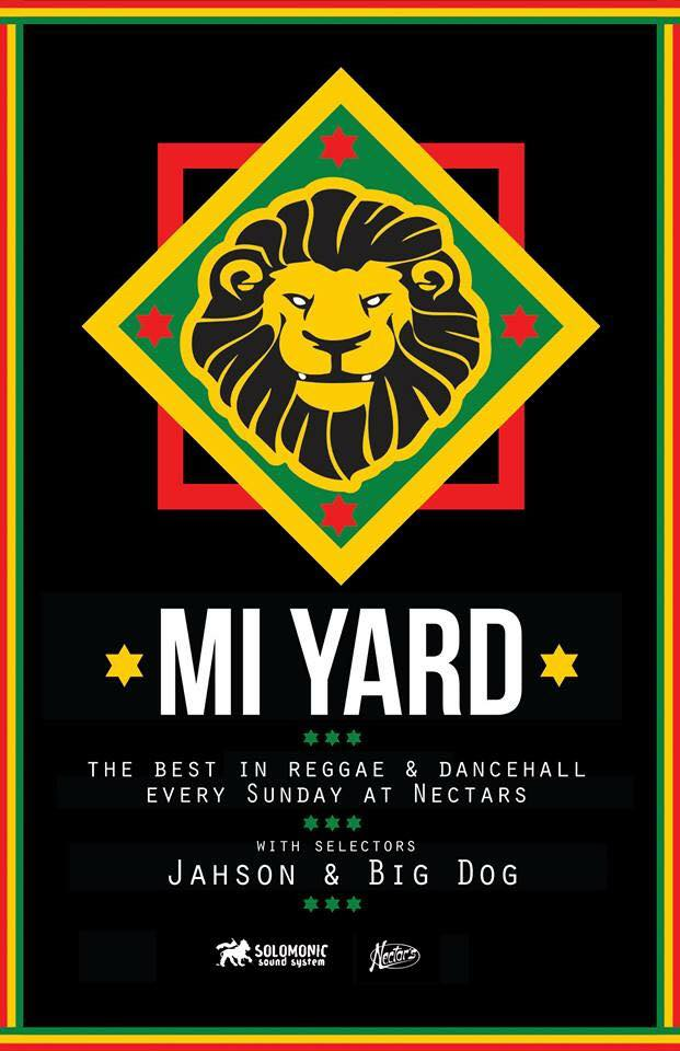 Mi Yard Reggae Night Official Artwork