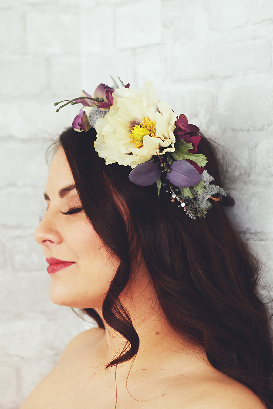 large flower crown rental