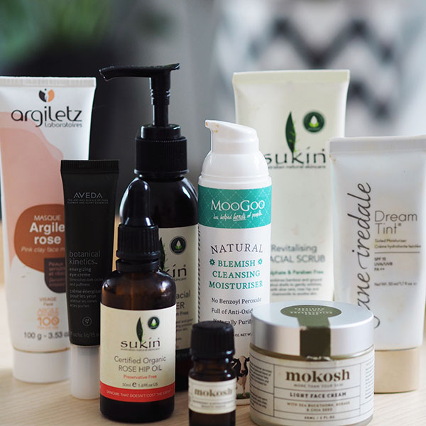 The Clean Beauty line-up of all-natural skin care products